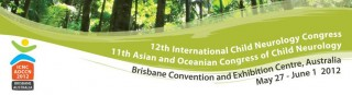 Joint 12th International Child Neurology Congress and 11th Asian and Oceanian Congress of Child Neurology