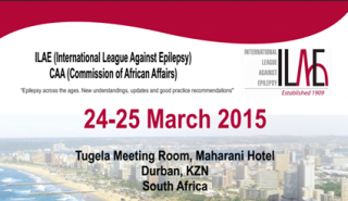 ILAE-CAA Epilepsy Conference March 24-25 2015 Durban