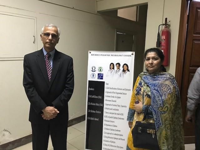 Advanced Paediatric Neurology Course, Karachi 2017